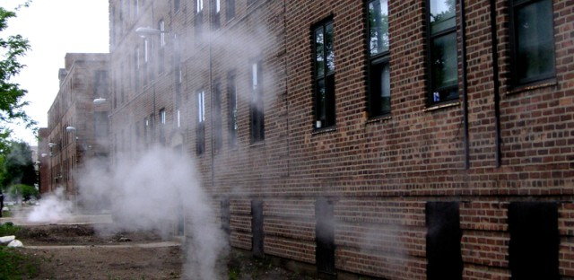 Question answered: Why is steam coming out of the ground at Lathrop Homes?