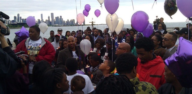 Hadiya Pendleton's 16th birthday celebration and memorial: Photo of the Day - June 4, 2013