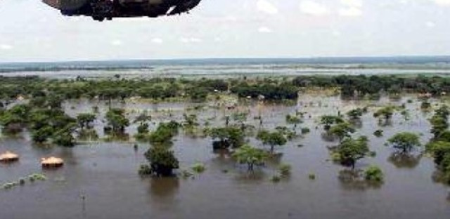 Flooding in South Africa