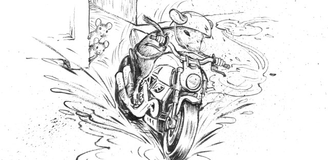"""Cleary says she wrote The Mouse and the Motorcycle for her son. """"He was in about the third grade and was disillusioned with school and reading and I said, 'Well, what would you like to read about?' And he said: 'Motorcycles.'"""""""