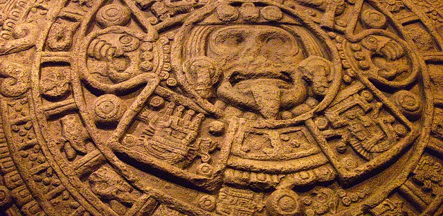 Mayan Calendar - Aztec Stone of the Sun, on display at the Field Museum