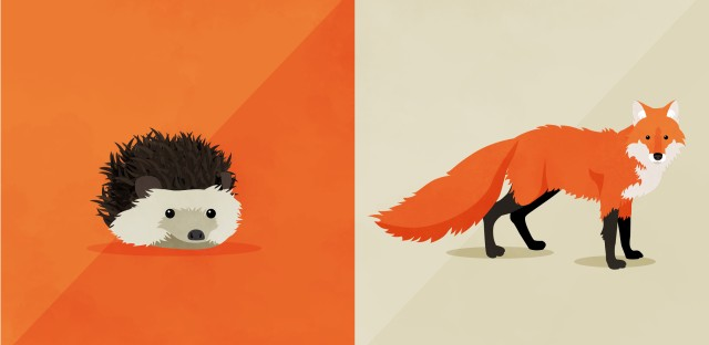 """Psychologist Phil Tetlock thinks the parable of the fox and the hedgehog represents two different cognitive styles. """"The hedgehogs are more the big idea people, more decisive,"""" while the foxes are more accepting of nuance, more open to using different approaches with different problems."""