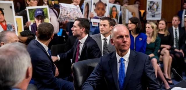 Boeing CEO Dennis Muilenburg Testifies Before Congress