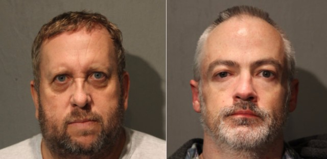 Suspects Andrew Warren, left, and Professor Wyndham Latham, right, have been formally charged with first-degree murder in connection with the July 26th stabbing homicide at 540 North State Street.