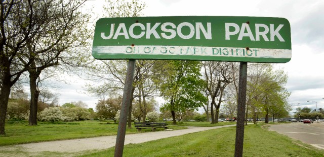 Jackson Park on Chicago's South Side will be the location of President Barack Obama's presidential library. Jackson Park is near the University of Chicago, where Obama once taught constitutional law. (Paul Beaty/AP Photo)