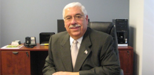 Joe Berrios, in 2010, at his desk at the Cook County Democratic Party.