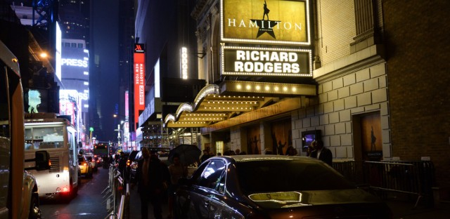 Lin-Manuel Miranda's hit musical Hamilton won 11 Tonys in 2016. It still draws sellout crowds to the Richard Rogers Theatre in New York as well to touring productions.