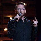 Neal Brennan performs his Netflix special, 3 Mics.