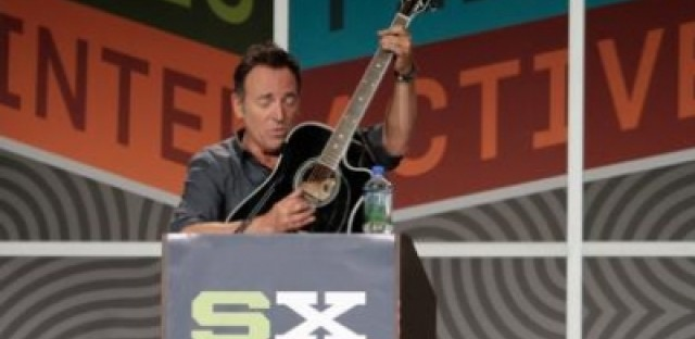 SXSW Day Two: Springsteen's keynote address