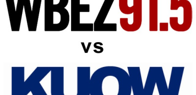 Video: WBEZ and KUOW wager leftover pledge drive gifts for playoff game
