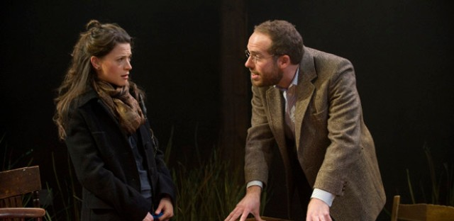 Stacie Green and Tim Musachio in 'Kin' by Griffin Theatre at Theatre Wit