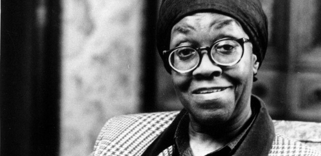 Gwendolyn Brooks sits in the Poet Room of the Library of Congress in Washington, D.C., in March 1986.