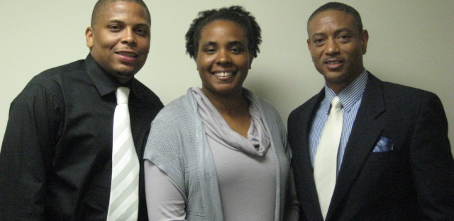 Self Chisolm, Tonya Spencer and Gregg Brown of Naturally Speaking LLC.
