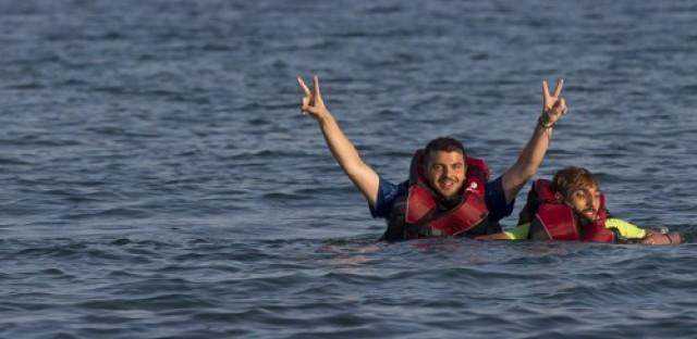 Refugees overwhelm Kos