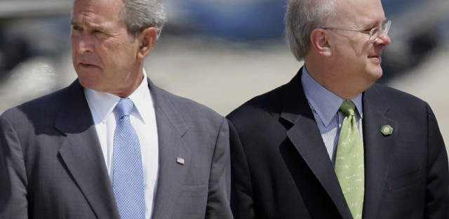 Bush and Rove have started a new PAC aimed at other Republicans.