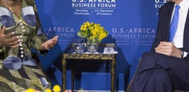 President Obama meets with African leaders to talk trade, investment