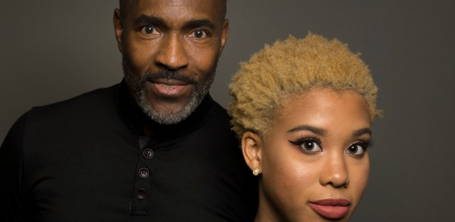 Homer Hans Bryant, founder and artistic director of the Chicago Multi-Cultural Dance Center, and 18-year-old ballerina Nia Parker.