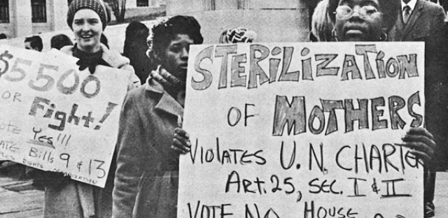 Eugenics Protest circa 1971