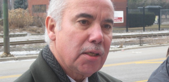 Miguel Del Valle was the first Latino in the Illinois Senate.