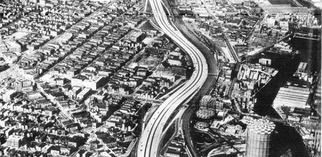 Northwest Expressway at Division, 1961