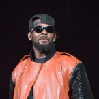 R. Kelly, performing in Brooklyn in 2015. Mike Pont/Getty Images