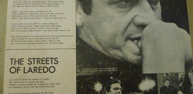 Johnny Cash's 'Folsom Prison Blues'
