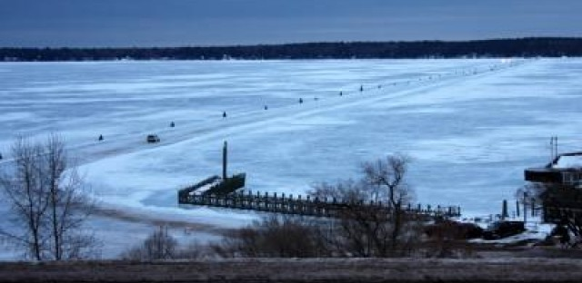 Climate change hits mightiest of the Great Lakes