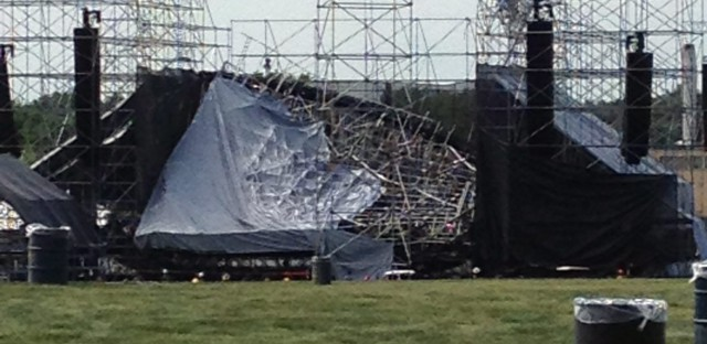 Toronto stage collapse: Blame Live Nation, not Radiohead