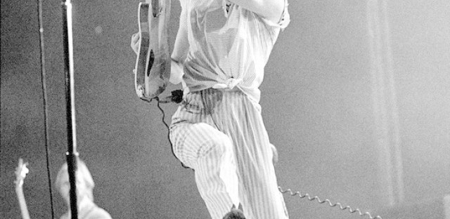 The Who at the International Ampitheater on May 3rd, 1980, in Chicago.