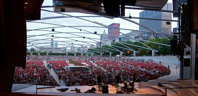 Handsome Family at Pritzker Pavilion Chicago 35: Photo of the Day - July 26, 2013