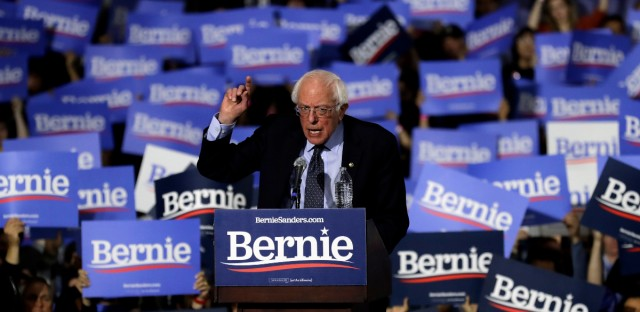 Sen. Bernie Sanders, I-Vt., speaks as he kicks off his 2020 presidential campaign at Navy Pier in Chicago, Sunday, March 3, 2019. Over the next several weeks, Sanders will travel to Iowa, New Hampshire, South Carolina, Nevada, and California.