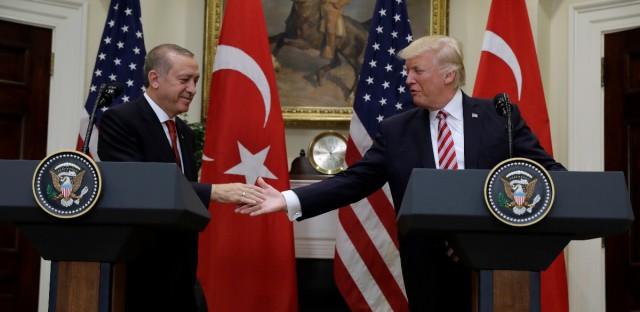 President Recep Tayyip Erdogan and Trump