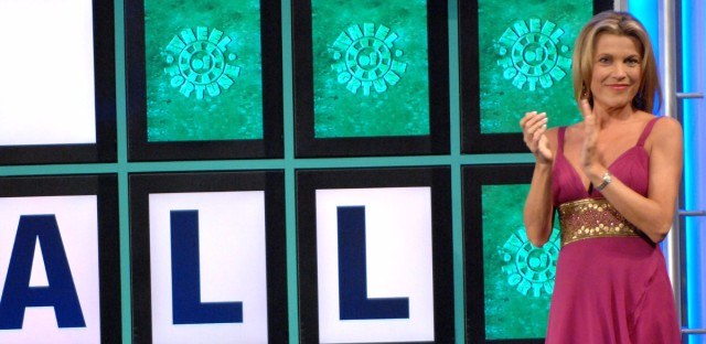 """""""You can't solve the puzzle if I don't turn the letter,"""" says Wheel of Fortune co-host Vanna White. (Peter Kramer/AP)"""