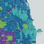 Chicago Mayoral Election Map