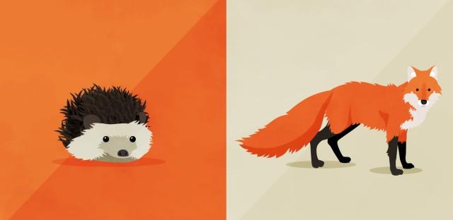 Hidden Brain : Ep. 71: The Fox and the Hedgehog  Image