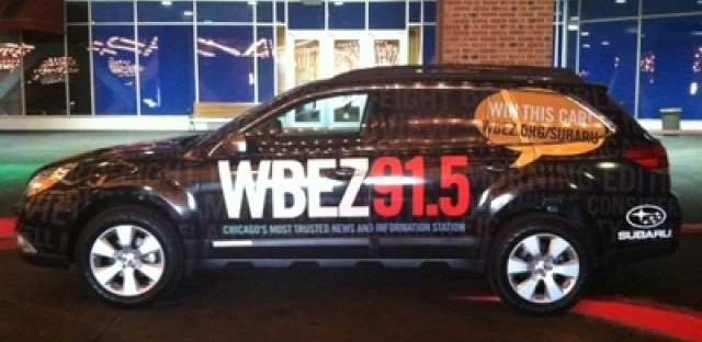 Tales from the road: WBEZ car brings worst out in people (well, person)