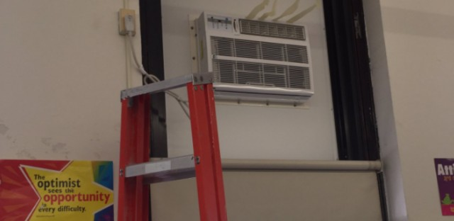 Air Conditioning Unit At Bouchet