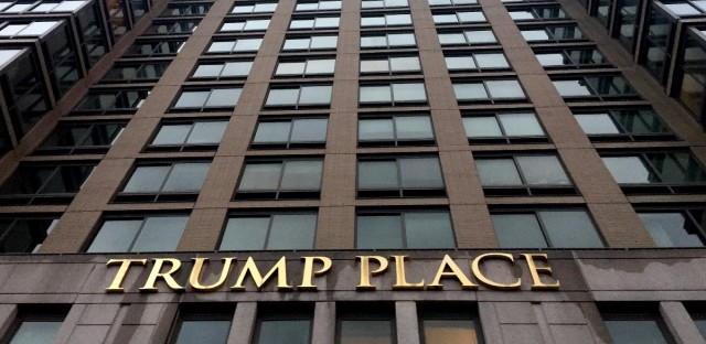 Trump Place, a rental apartment complex in New York City, will be renamed after hundreds of residents petitioned for it.