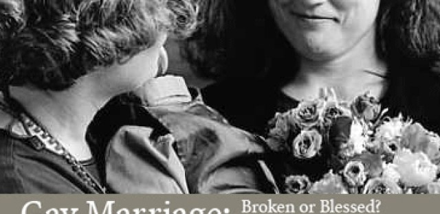 On Being : Richard Mouw and Virginia Ramey Mollenkott — Gay Marriage: Broken or Blessed? Two Evangelical Views Image