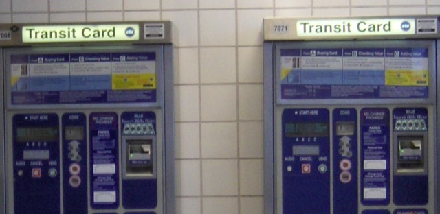 CTA fare machines