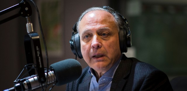 Gary Grasso, seen here at WBEZ studios in 2018.