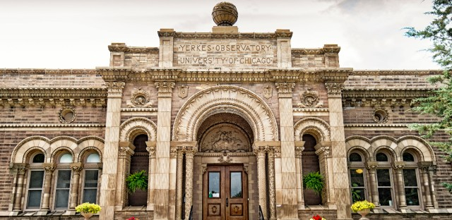 The Yerkes Observatory in Williams Bay, Wisconsin. The University of Chicago is set to close the 121-year-old facility on Oct. 1.