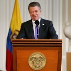 Colombia's President Juan Manuel Santos won the Nobel Peace Prize
