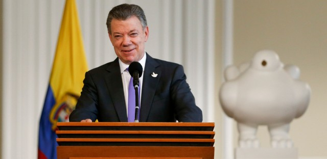 Colombia's President Juan Manuel Santos won the Nobel Peace Prize Friday, just days after voters narrowly rejected a peace deal.