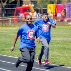 Athletes participate in Chicago's Spring Special Olympics Games in May 2018.