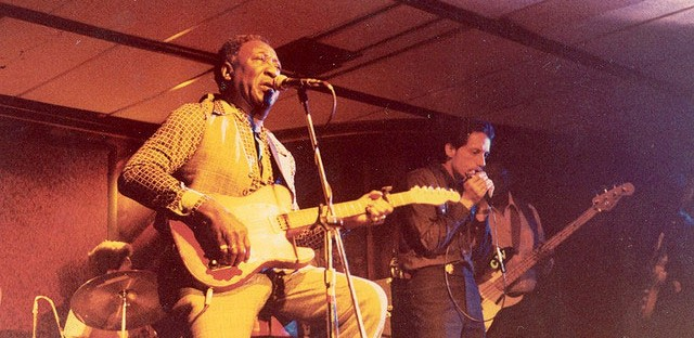 Muddy Waters, circa 1971. The late music legend will be honored at this year's Chicago Blues Festival