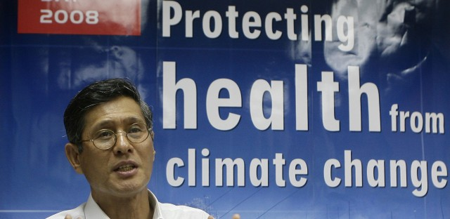 PHILIPPINES WHO CLIMATE CHANGE