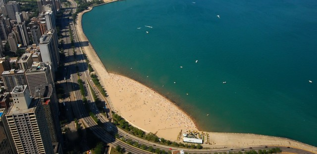 North Avenue Beach Before And After