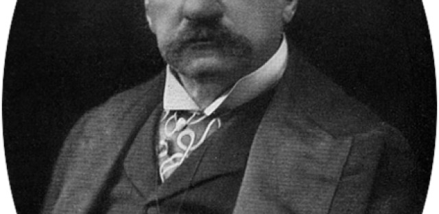 The original John Pierpont Morgan, born in 1837.