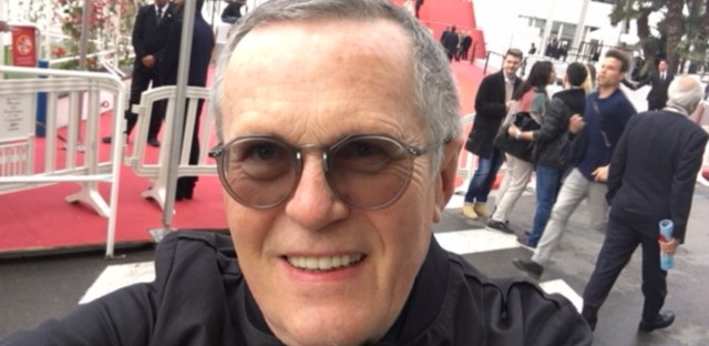 WBEZ film contributor Milos Stehlik at the 71st Cannes Film Festival.